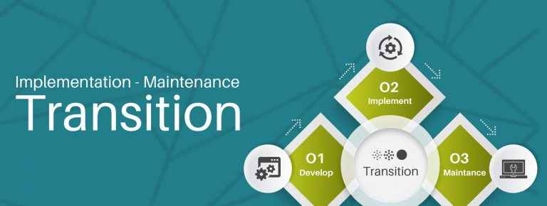 Project Transition Plan Implementation Maintenance