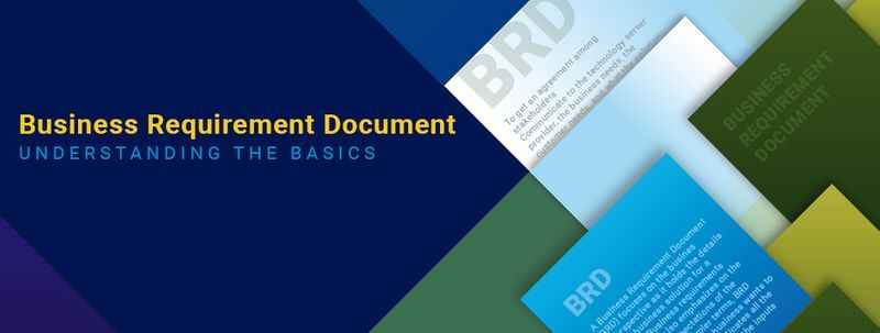 Business requirements document BRD