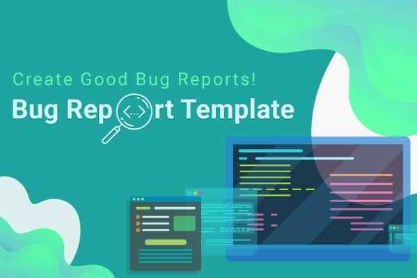 Bug report template