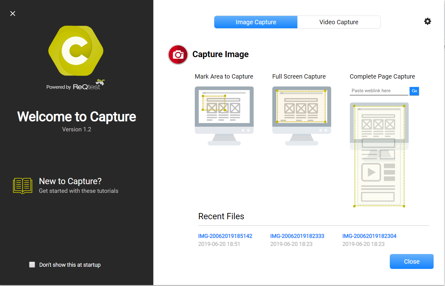 Bug Reporting Tool to Capture Screen Images & Videos