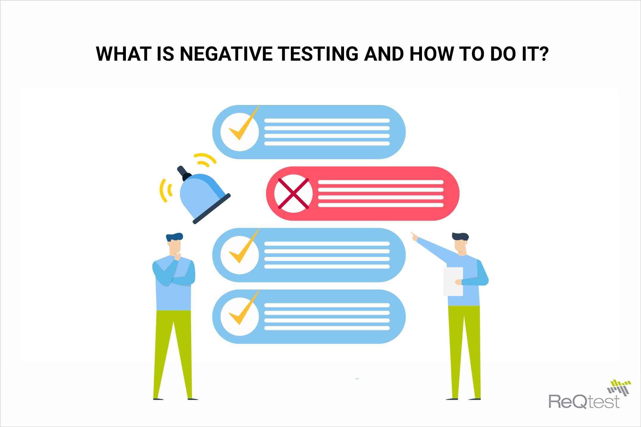 negative testing