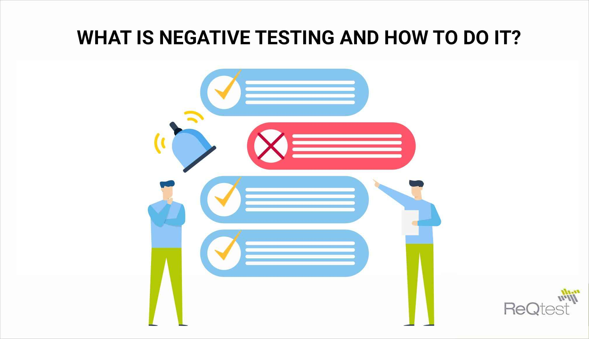what is negative testing